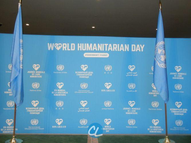 Recap: World Humanitarian Day 2016 at The United Nations 2016
