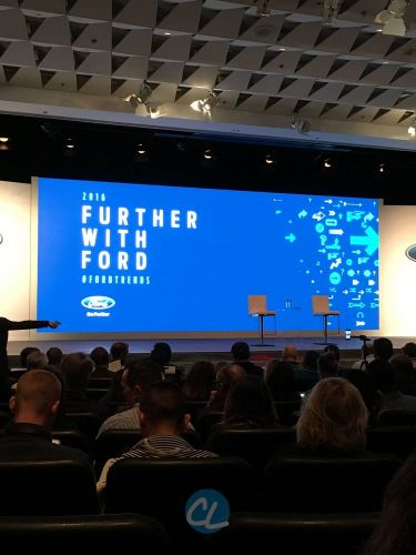 Recap: Forward with Ford 2016 (Ford Trends) – Mobility