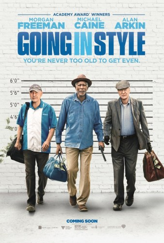 Seasoned, Solid & Seriously Silly | GOING IN STYLE – Press Conf. / Review