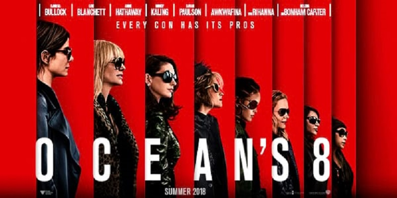 Official Trailer For WB's OCEAN'S 8