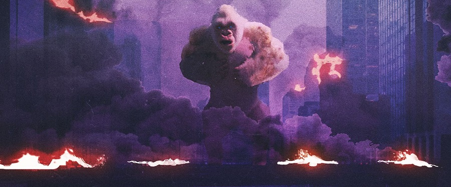 New Artwork For WB's Upcoming RAMPAGE, Starring Dwayne Johnson!
