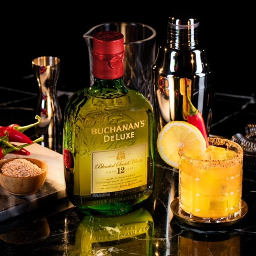 Recipe: Gear Up For The World's Biggest Soccer Games with Buchanan's Celebratory Drinks