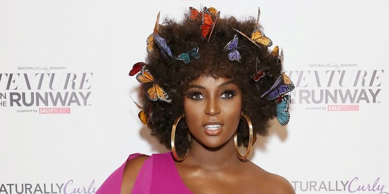 Amara La Negra Turn Heads as the Mane Attraction at Naturally Curly's Texture on the Runway