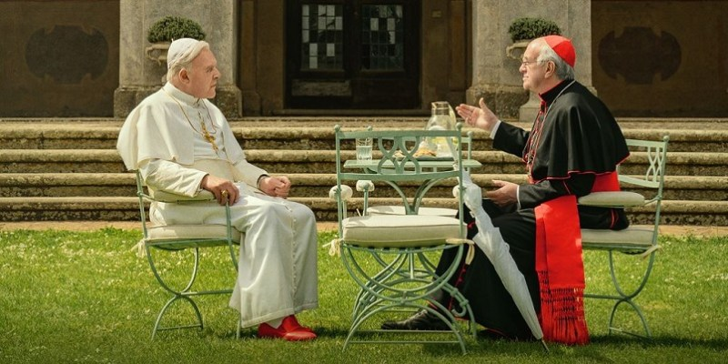 The power of Christ compels you! | THE TWO POPES – Review