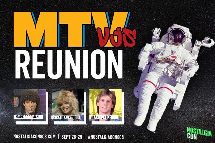 MTV VJs Reunion Set for NostalgiaCon '80s Pop Culture Convention