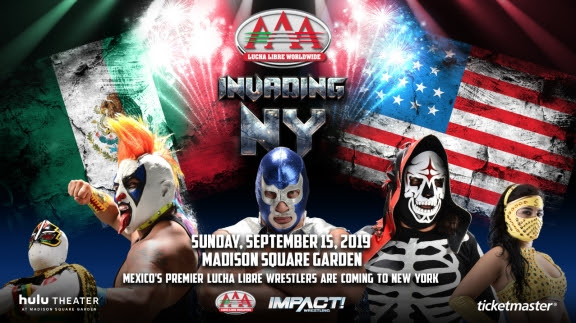 IMPACT Wrestling to Promote Sept. 15 Live Event at Hulu Theater in Madison Square Garden