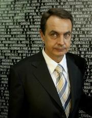 Il premier spagnolo Zapatero