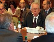 Il ministro dell'Economia Tommaso Padoa-Schioppa (Infophoto)