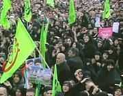 Una manifestazione filo-governativa a Teheran (Ap)