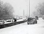 Difficoltà sulla rampa di accesso all'A1 all'altezza di Firenze Sud (Ansa)