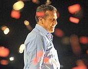 Ollanta Humala festeggia la vittoria (Reuters)