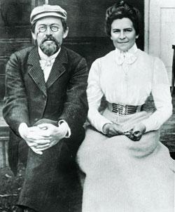 Anton Cechov e Olga Knipper: si sposarono il 25 maggio del 1901