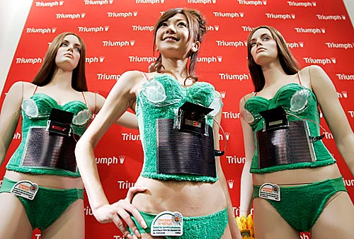 FOTOVOLTAIC POWERED BRA BY TRIUNPH