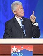 Bill Clinton alla Convention di Denver (Reuters)