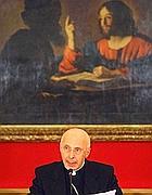 Il presidente della Cei Angelo Bagnasco (La Presse)