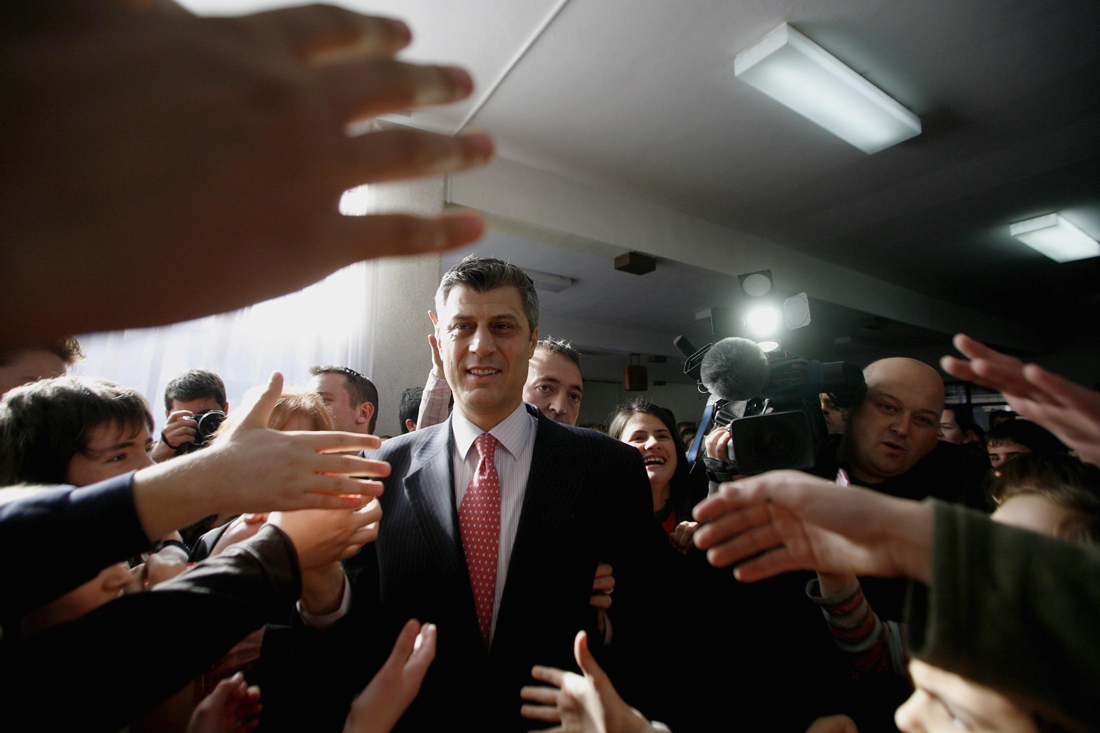 Il capo del governo del Kosovo, Hashim Thaci (reuters)
