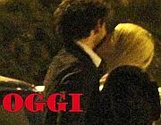 La foto del bacio tra Barbara Berlusconi e Pato pubblicata sul sito del settimanale «Oggi»