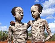 Due ragazzini della tribù Hamar, nella valle dell'Omo (Magda Rakita/Survival)