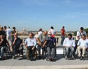 Disabili protestano