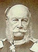 Guglielmo I di Hohenzollern (1797-1888) che fu re di Prussia e poi, dal 1871, primo imperatore del Reich tedesco