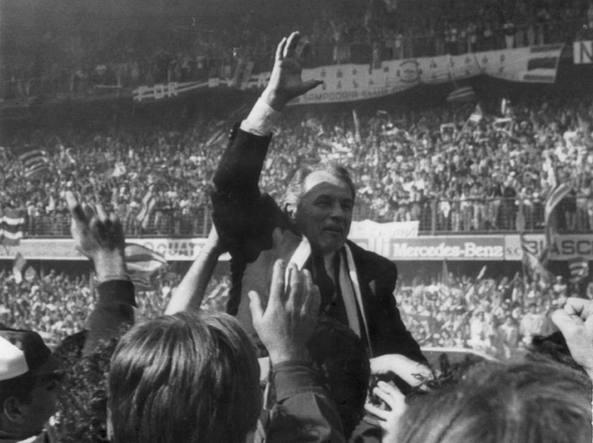 Boskov ai tempi della vittoria dello scudetto nel 1991