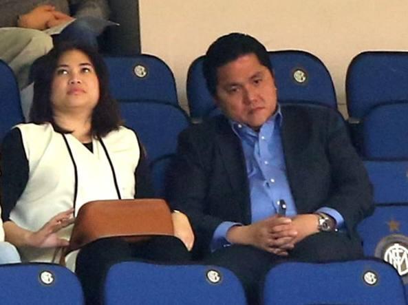 Il presidente dell'Inter Erick Thohir (LaPresse/Forte)