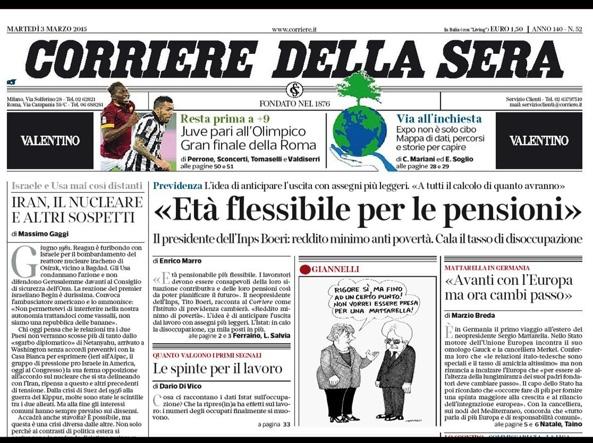 Il Corriere Della Sera Rafforza La Leadership Corriere It