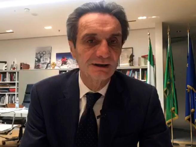 Coronavirus, Fontana e il blocco totale in Lombardia: «Voglio ...