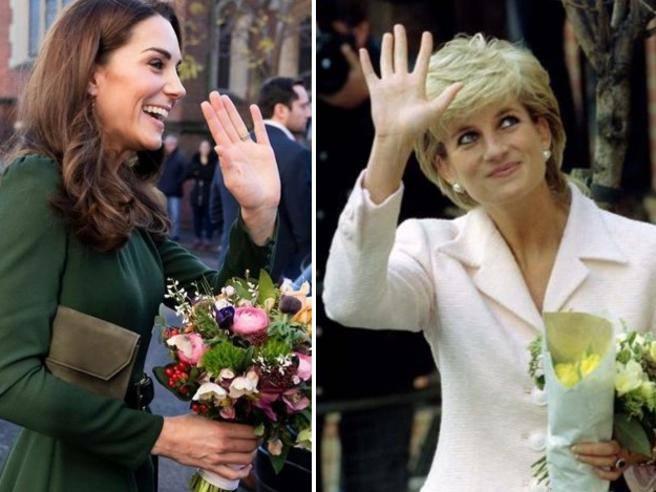 Kate Middleton come Lady Diana perch sono uguali  Corriereit