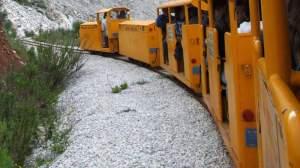 Il treno del Parco San Silvestro