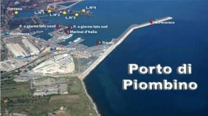 il futuro porto di Piombino