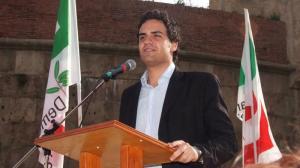 Il segretario del PD Valerio Fabiani