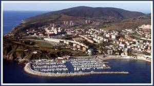 il porto turistico Marina di Salivoli