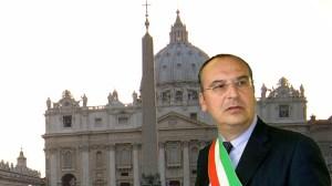 Anselmi al Vaticano in un nostro fotomontaggio