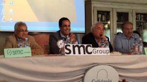 un momento della conferenza di SMC