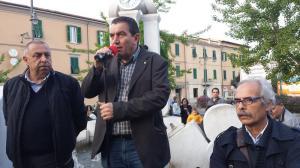 sindacati in Piazza Verdi il 14 aprile
