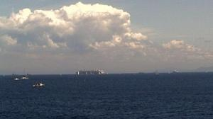 Ore 11.50 la nave a 6 miglia dal Giglio