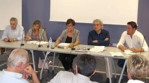 La conferenza stampa al termine della visita