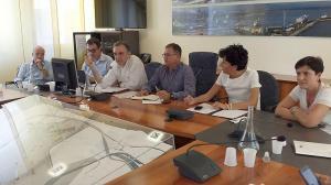 Enrico Rossi a Piombino per l'Accordo di Programma