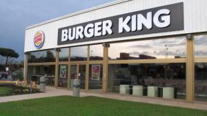 L'ingresso del Burger King di Livorno