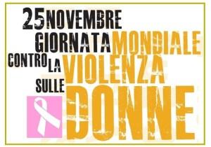 Il logo della Giornata mondiale contr la violenza sulle donne