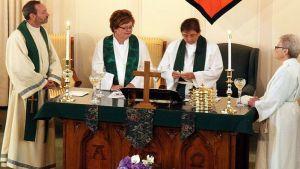 Eucarestia in una Chiesa MCC negli USA (fonte: Wikipedia)