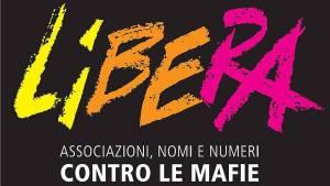 """il logo dell'associazione """"Libera"""""""