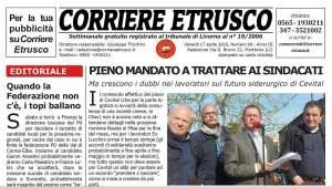 Corriere Etrusco n.99 del 17 aprile 2015