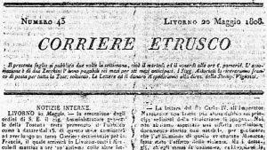 Corriere Etrusco n. 43 del 20 maggio 1808