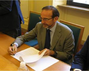 Il Vice Ministro Riccardo Nencini