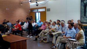 il pubblico e i tecnici presenti