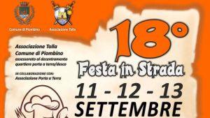 """il manifesto della """"Festa in Strada"""""""
