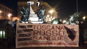 la manifestazione a Livorno