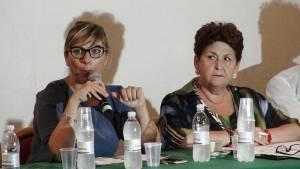 Silvia Velo e Teresa Bellanova